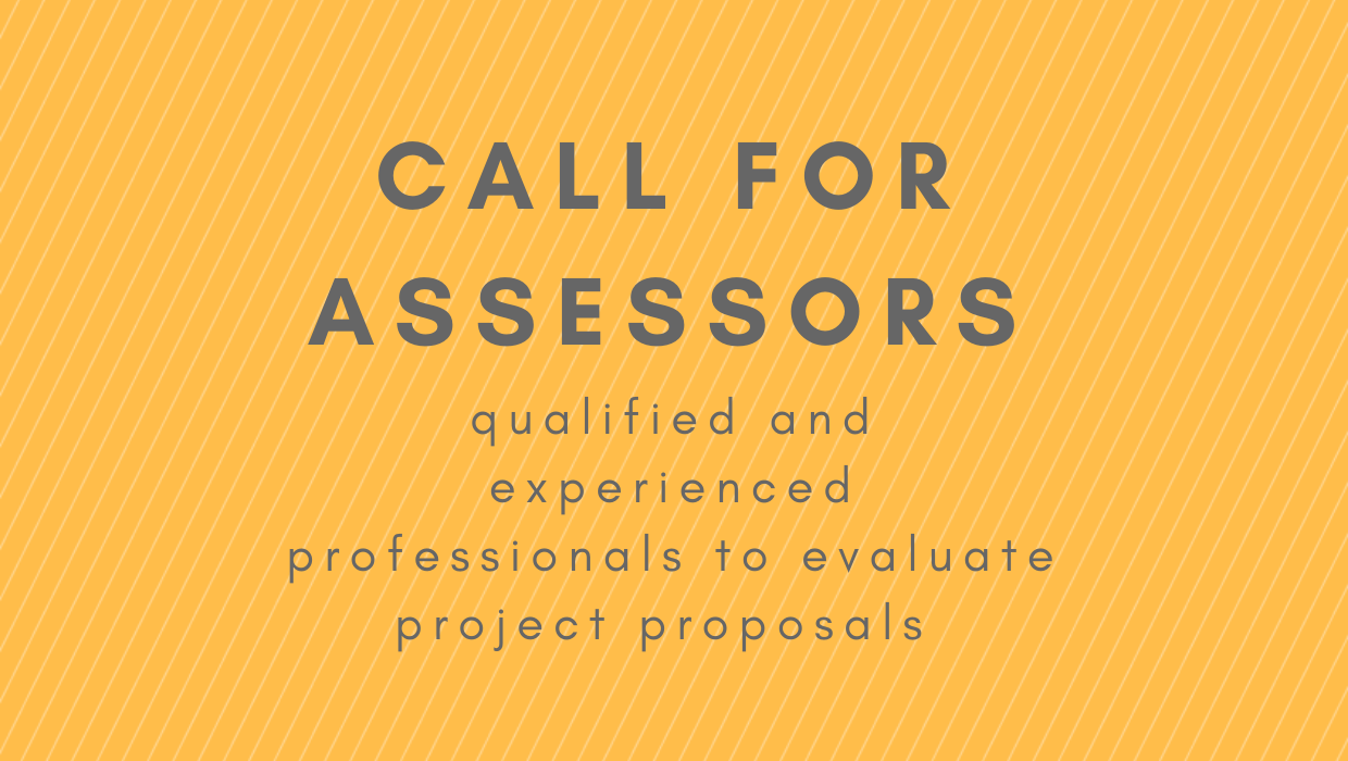 Call for experienced professionals to join the Programme's Pool of Assessors