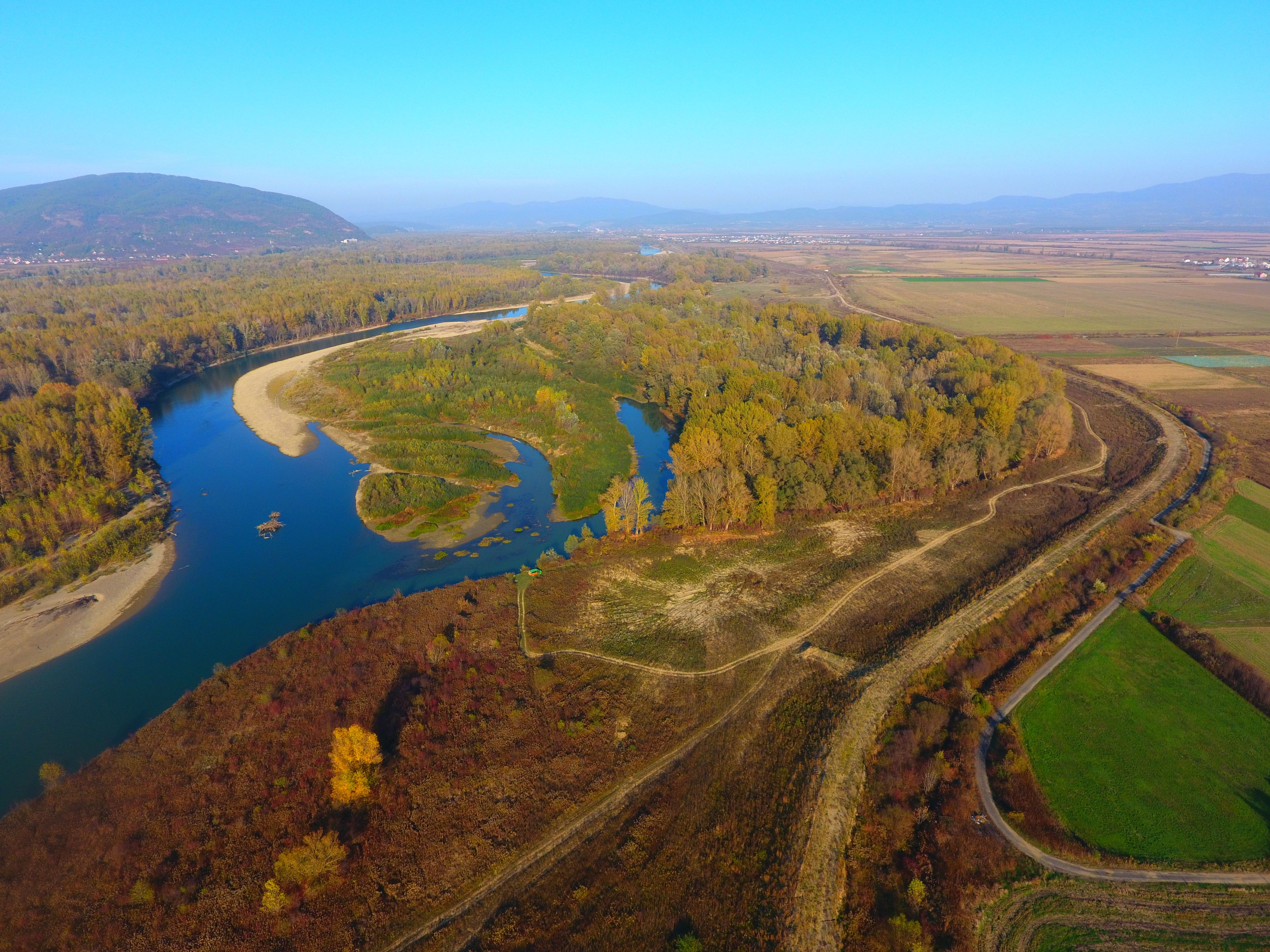 Works on reconstruction of the dam and hydraulic structures are being carried out on the territory of Ukraine