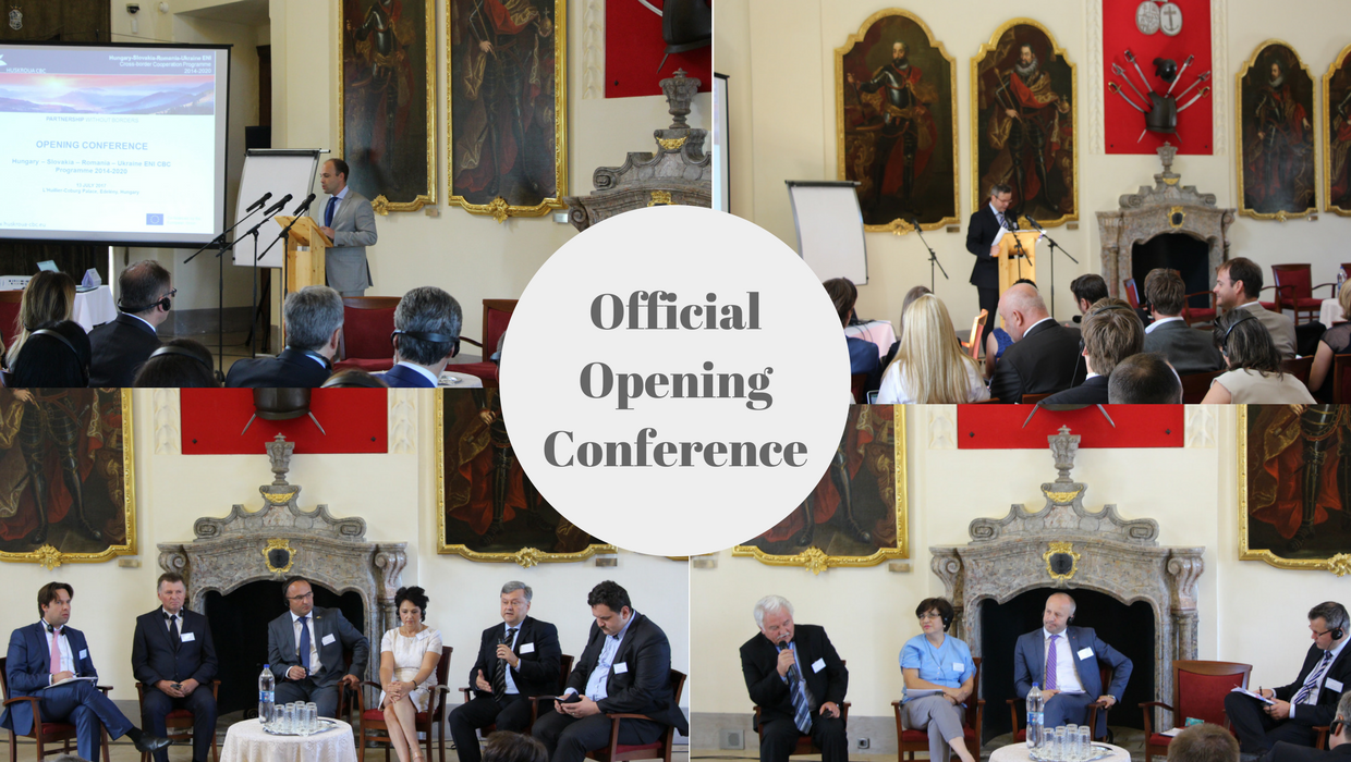 Official Opening Conference of the Programme brings together Decision Makers from Programme Area