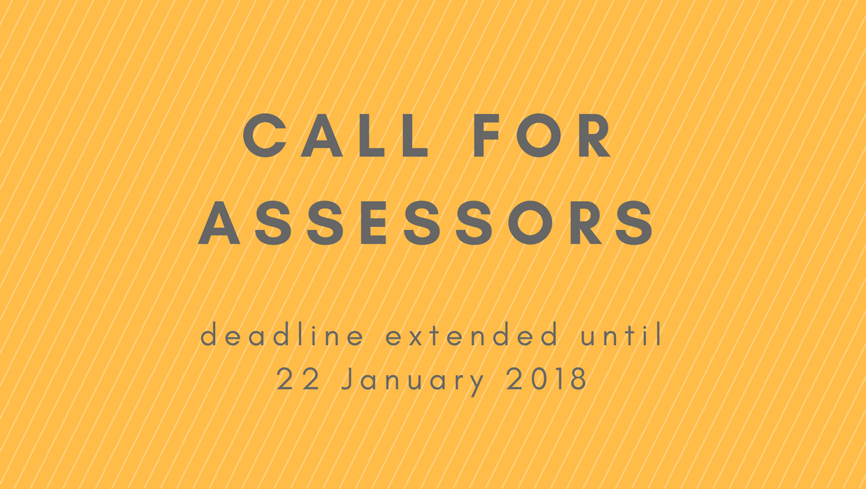 Call for Assessors in Charge of Project Evaluation Extended