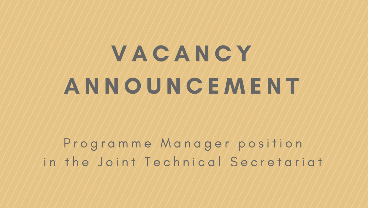 Vacancy Announcement for Programme Manager Position in JTS