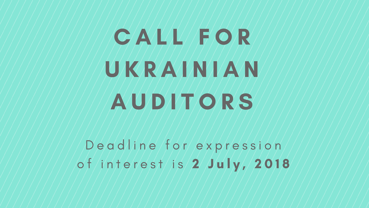 Call for Ukrainian auditors launched by the Chamber of Auditors of Ukraine