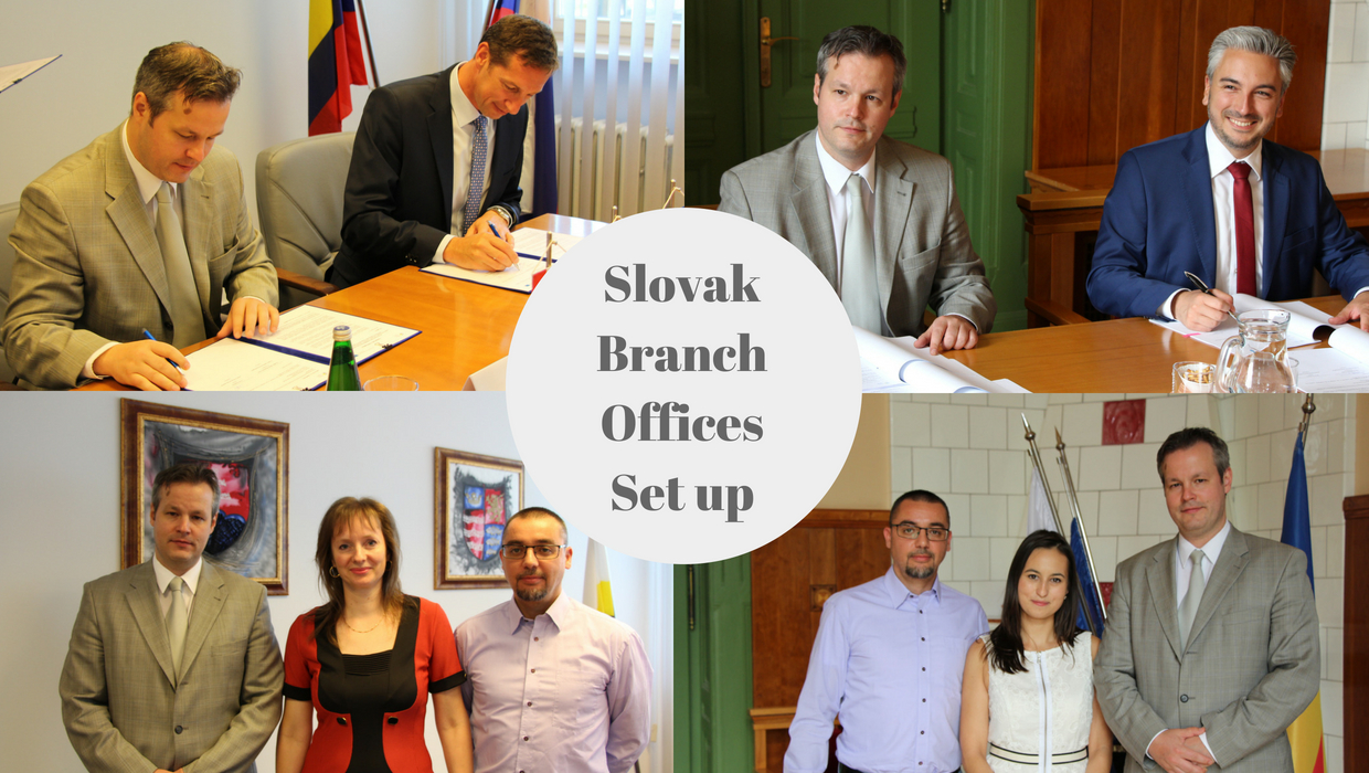 JTS signs financing agreements for hosting Slovak Branch Offices