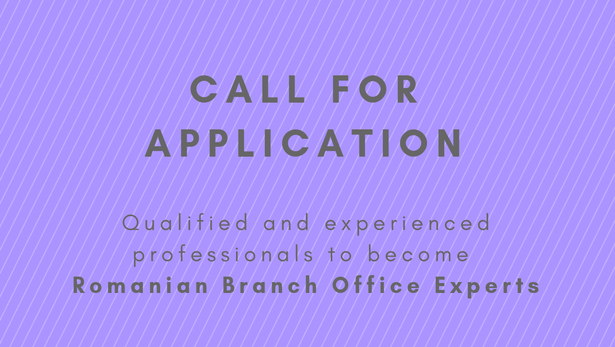 Call for Application for Branch Office Experts in Romania