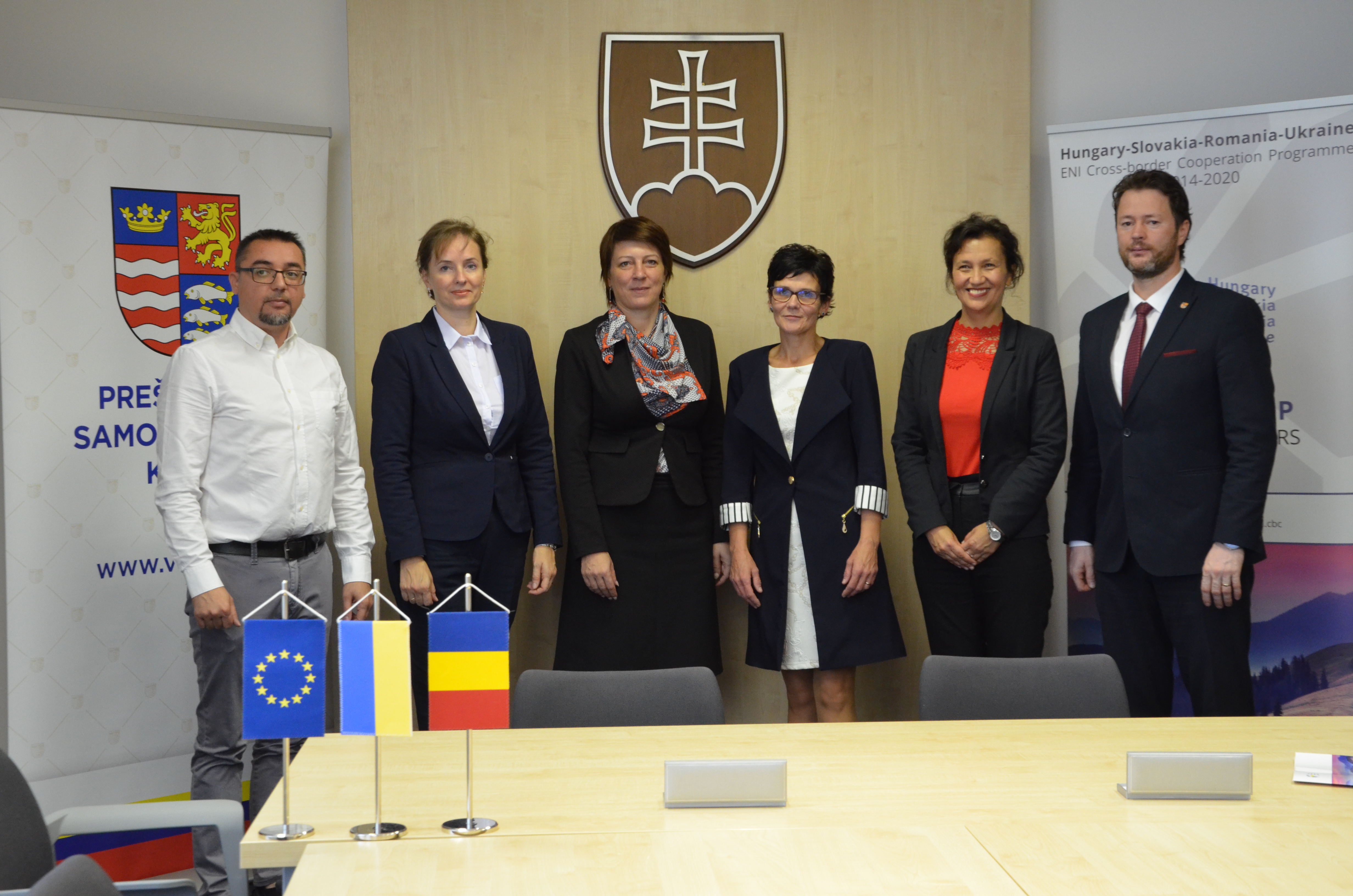 Grant contract signing ceremonies organised in Ivano-Frankivsk and Prešov